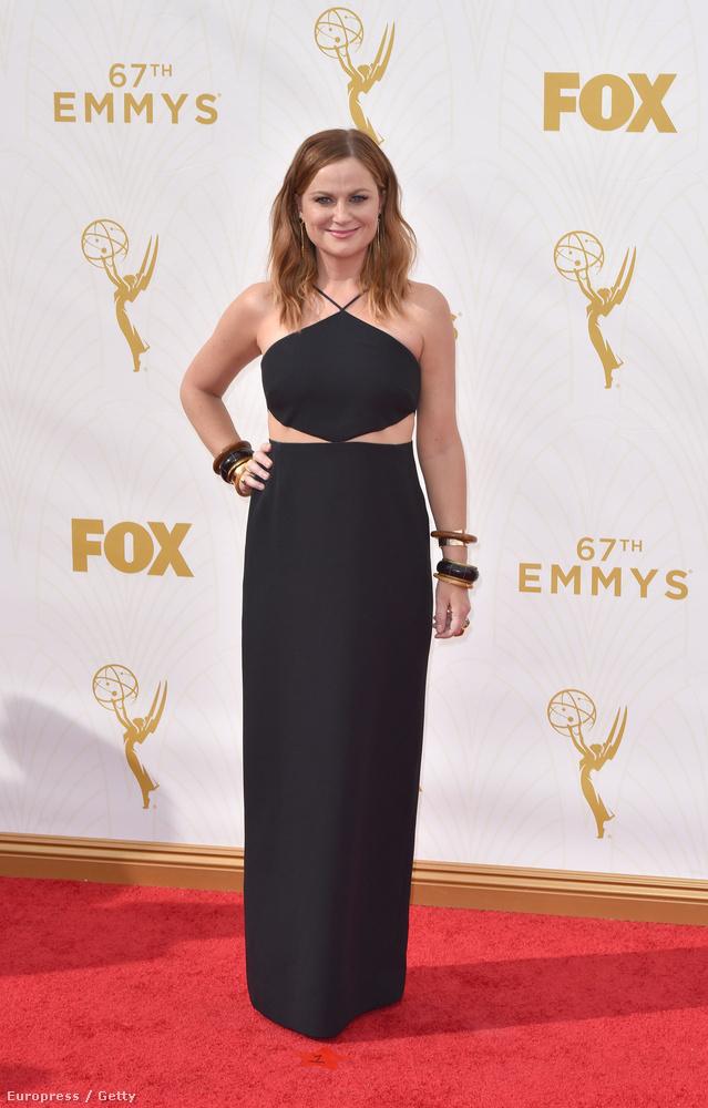 Amy Poehler színésznő-humorista egy olyan ruhát vett fel, amiért 1994-ben egymást ölték volna az A-listás sztárok