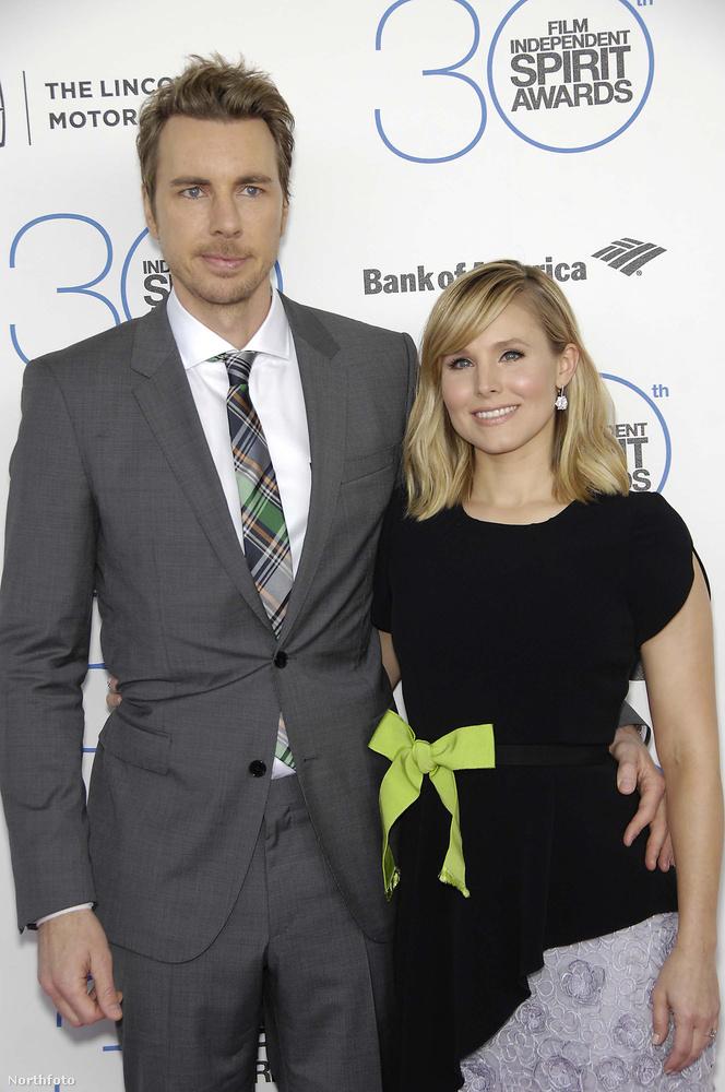 Kristen Bell és a férje, Dax Shepard.