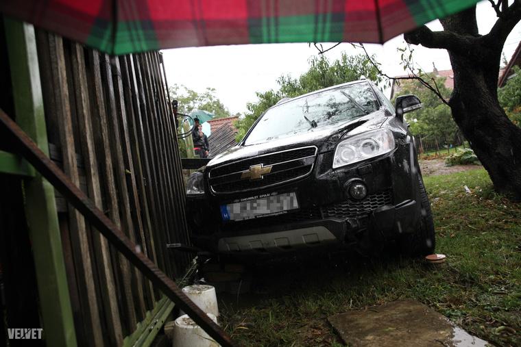Az óbudai asszonyhoz négy éve már benézett egy autós